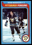 1979 Topps #187  Peter Mahovlich  Front Thumbnail