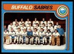 1979 Topps #246   Sabres Team Checklist Front Thumbnail
