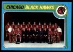 1979 Topps #247   Blackhawks Team Checklist Front Thumbnail