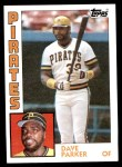 1984 Topps #775  Dave Parker  Front Thumbnail