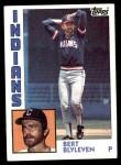 1984 Topps #789  Bert Blyleven  Front Thumbnail