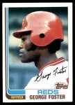 1982 Topps #700  George Foster  Front Thumbnail