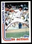 1982 Topps #10   -  Ron Guidry In Action Front Thumbnail