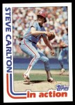 1982 Topps #481   -  Steve Carlton In Action Front Thumbnail