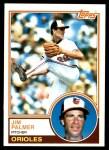 1983 Topps #490  Jim Palmer  Front Thumbnail