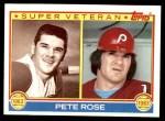 1983 Topps #101   -  Pete Rose Super Veteran Front Thumbnail