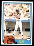 1981 Topps #45  Enos Cabell  Front Thumbnail