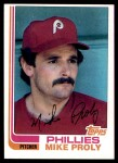 1982 Topps #183  Mike Proly  Front Thumbnail