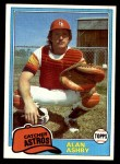 1981 Topps #696  Alan Ashby  Front Thumbnail