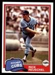 1981 Topps #645  Rick Reuschel  Front Thumbnail