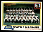 1981 Topps #672   Mariners Team Checklist Front Thumbnail