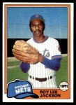 1981 Topps #223  Roy Lee Jackson  Front Thumbnail