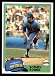 1981 Topps #132  Tommy Boggs  Front Thumbnail