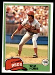 1981 Topps #419  Tom Hume  Front Thumbnail