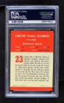 1963 Fleer #23  Cookie Gilchrist  Back Thumbnail
