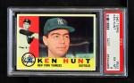 1960 Topps #522  Ken Hunt  Front Thumbnail