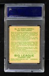 1933 World Wide Gum #73  Eddie Farrell    Back Thumbnail