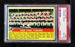 1956 Topps #251   Yankees Team Front Thumbnail