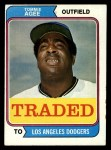 1974 Topps Traded #630 T  -  Tommie Agee Traded Front Thumbnail