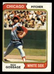 1974 Topps #542  Goose Gossage  Front Thumbnail