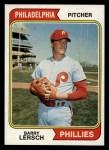 1974 Topps #313  Barry Lersch  Front Thumbnail