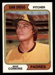 1974 Topps #546  Mike Corkins  Front Thumbnail