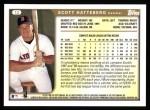 1999 Topps #12  Scott Hatteberg  Back Thumbnail