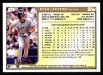 1999 Topps #31  Ryan Jackson  Back Thumbnail
