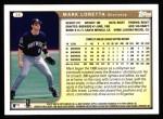 1999 Topps #36  Mark Loretta  Back Thumbnail