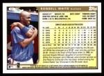 1999 Topps #61  Rondell White  Back Thumbnail