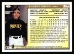 1999 Topps #76  Ricardo Rincon  Back Thumbnail