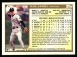 1999 Topps #84  Mike Caruso  Back Thumbnail