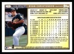 1999 Topps #88  Ryan Christenson  Back Thumbnail