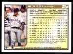 1999 Topps #97  Neifi Perez  Back Thumbnail