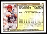 1999 Topps #126  Lee Stevens  Back Thumbnail