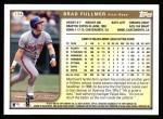 1999 Topps #134  Brad Fullmer  Back Thumbnail