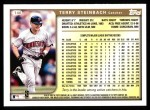 1999 Topps #146  Terry Steinbach  Back Thumbnail