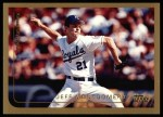 1999 Topps #179  Jeff Montgomery  Front Thumbnail
