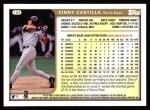 1999 Topps #199  Vinny Castilla  Back Thumbnail