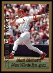 1999 Topps #201   -  Mark McGwire  Highlights Front Thumbnail