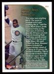 1999 Topps #202   -  Sammy Sosa  Highlights Back Thumbnail