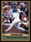 1999 Topps #202   -  Sammy Sosa  Highlights Front Thumbnail