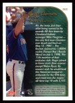 1999 Topps #203   -  Roger Clemens  Highlights Back Thumbnail