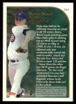 1999 Topps #204   -  Kerry Wood  Highlights Back Thumbnail