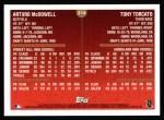 1999 Topps #214  Tony Torcato / Arturo McDowell  Back Thumbnail