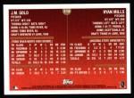 1999 Topps #218  J.M.Gold / Ryan Mills  Back Thumbnail