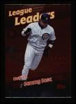 1999 Topps #229   -  Sammy Sosa League Leaders Front Thumbnail