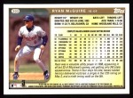 1999 Topps #303  Ryan McGuire  Back Thumbnail
