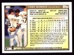 1999 Topps #310  Tony Womack  Back Thumbnail