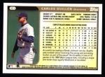 1999 Topps #351  Carlos Guillen  Back Thumbnail